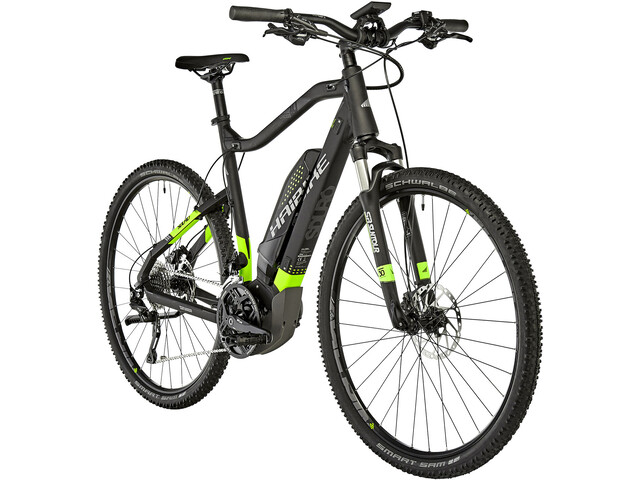 HAIBIKE SDURO Cross 6.0 E-crossbike sort | City
